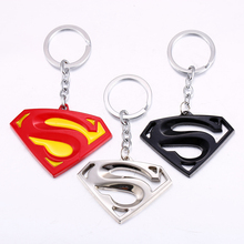 Julie Moives The Avengers Series Superman Keychain 3 colors  . Batman Metal Key chain for Keys Key Holder Jewelry Accessories