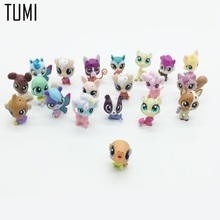 12Pcs/bag LPS Toy bag Little Pet Shop Action Figures Toys Littlest Animal Cat Dog patrulla canina Action Figures Kids toys  D061