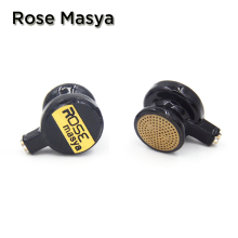 NICEHCK Rose Masya Flat Head Earphone Double Dynamic Earbud HIFI Monitor Earbud Earphone With 2-pin Interface Free Shipping