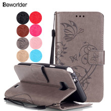 For Samsung S2 Case Flip Wallet Embossing Leather Case TPU Phone Case Cover For Samsung Galaxy S 2 I9100 With Card Slots