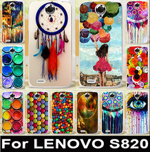 Paintbox Chocolate Candies Soft TPU Cell Phone Cases For Lenovo S820 Covers S 820 Housing Bags Skin Shell  Anti-Scratch Hood
