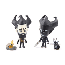 Don't Starve Do Not Starve Figure Special Edition Black White Shadow Wilson Vinyl Figure With Original Box(China)