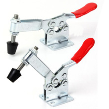 4pcs Heavy Duty Horizontal Toggle Clamp Holding Capacity 90Kg Metal Quick Release Tool GH-201B