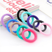 Candy Color Women Elastic Hair Bands High Quality Elastic Hair Bands 10 Pieces Women Headwears Hair Accessory