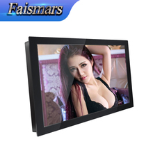 "Faismars M140-RFR 14-inch LCD Monitor Four-wire Touch Industrial Monitor 14"" Rack Mount Touchscreen Monitor With VGA DVI Input"