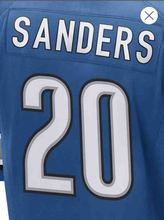 Men's #9 Matthew Stafford #20 Barry Sanders Adult Rush Limited Stafford Sanders Embroidery Free Shipping