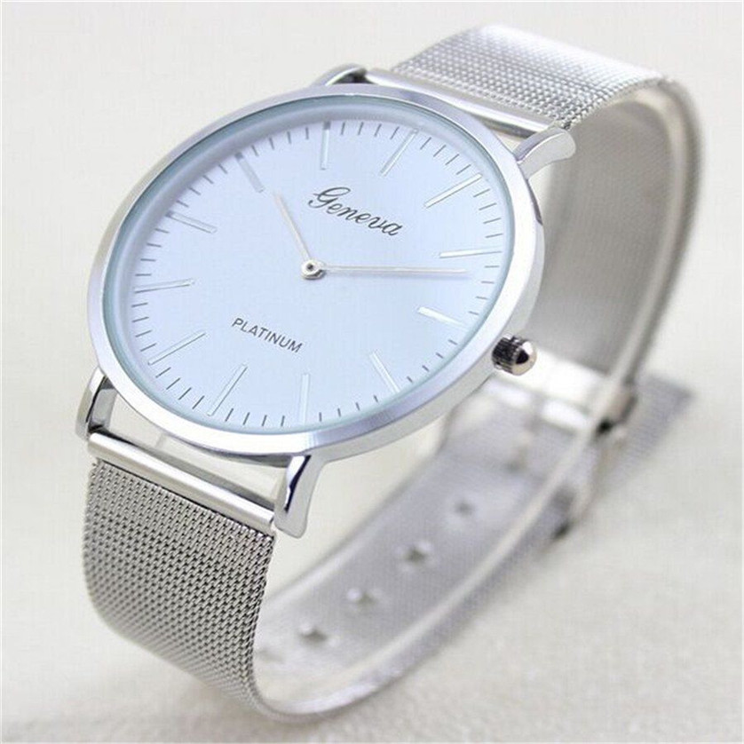 Watches Women Hot Luxury Brand Wrist Band Watch Stainless Steel 2 colors Relogio Ladies Casual Quartz Geneva Watches Sep22<br><br>Aliexpress