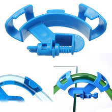 Aquarium Filtration Hose Holder Water pipe Clip filter Mount Tube tropical fish tank clean Pump Fixing Clamp aquario tubo Hanger(China)