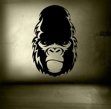Wall Decal King Kong Vinyl Sticker Skull Island Removable Bedroom Living Room Decoration Window Poster Home Accessories WW-147