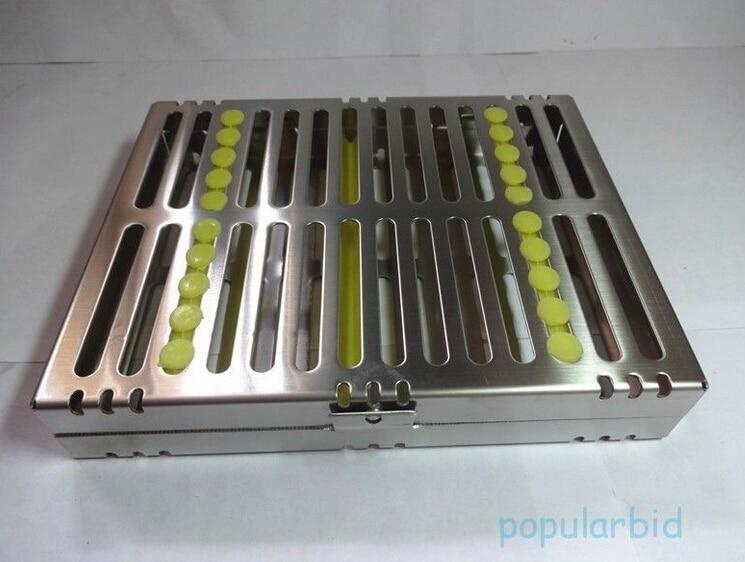 New Dental Surgical 10 Instruments Sterilization Cassette Tray Racks Holder Case<br><br>Aliexpress