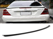 Carbon Fiber W211 MKB styling car rear Boot spoiler for benz W211 auto rear trunk Custom wing Car Tuning Parts