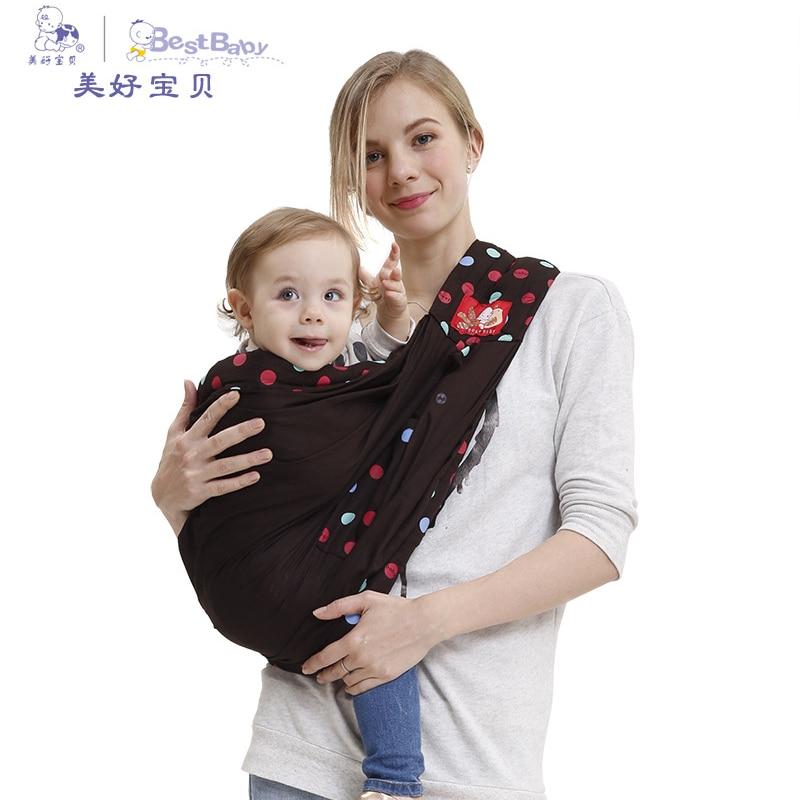 Multi-functional baby carrier Baby Ergonomic Sling Carrier Toddler Breathable 100% Cotton Backpack Infant Suspenders Newborned <br>