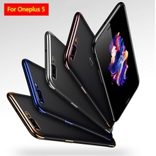 Luxury Laser Plating Case For Oneplus 5 Case Original Soft Plastic Cover For one plus 5 Silicone Transparent Case For A5000 case
