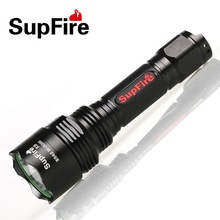 High power CREE XM-T6 brightest led flashlight 5 modes 10 watt cree led torches use 18650 rechargeable Li-ion battery