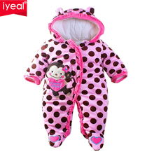 IYEAL 2017 new fashion baby rompers winter Newborn Jumpsuit Unisex Christmas Baby costume Long Sleeve Cotton Outerwear - Official Store store