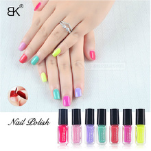 7Pcs/Set Water Base Peel Off Nail Polish Light Faint Scent Lacquer Healthy Non-toxic Professional Nail Art Enamel Cosmetics