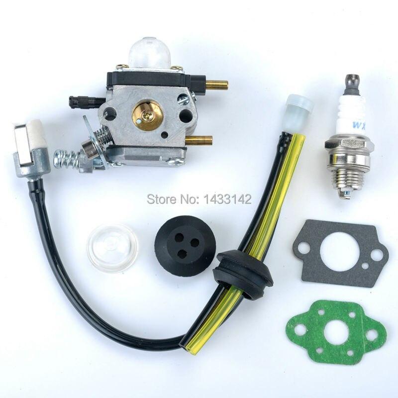Carburetor Carb Fuel LIne for ZAMA C1U-K54A Mantis Tillers Cultivator 7222E Echo SV-4B SV-4/B SV4B Genuine 12520013122 Trimmer<br><br>Aliexpress