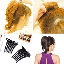 2PCS Volume Inserts Hair Clip Bumpits Bouffant Ponytail Hair Comb Hair Style Tools Hot Sale