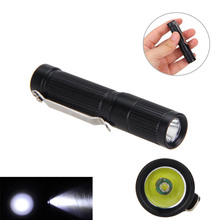 Ultra Mini Pocket 300lm Tactical Flashlight XPE LED Pen Clip Torch Camping Lamp Bicycle Bike Light(China)