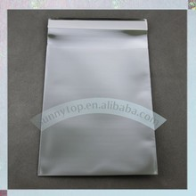 "180 x 250mm, C5 Matte silver poly mailer, 7""x10"" mailing bag(China)"