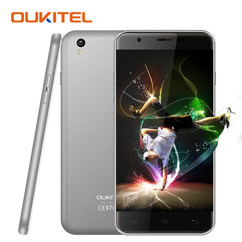 Oukitel U7 MAX 5.5 Inch HD 1280x720 Mobile Phone Android 6.0 MTK6580A Quad Core 1GB RAM+8GB ROM 8MP 3G WCDMA Dual SIM Cell Phone(China (Mainland))