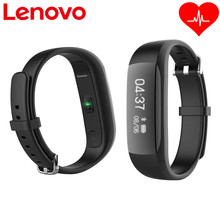 Original Lenovo HW01 Smart Wristband Heart Rate Moniter Pedometer Sports Fitness Tracker Bluetooth Bracelet For Android IOS