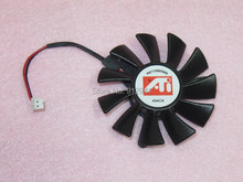 Cooler Master DF0601012RFMN 55mm Video Card VGA Cooler Fan Replacement 42mm 12V 0.20A 2Wire 2Pin for XFX HD5570 GT240 GTS250