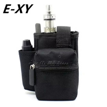 E-XY E cigarette Vapor Pocket E Cig Case Double Deck Vapor bag vape mod carrying case for Box Mod kit