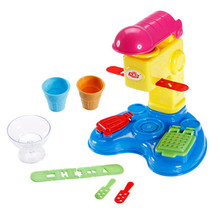 play dough color clay mold tool functional ice cream noodles Hamburg puzzle toys Christmas birthday toy playdough bag packing