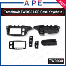 2017 New Arrival Tomahawk TW9030 Keychain case for Remote controller Tomahawk TW9030 two way Auto Security System free shipping