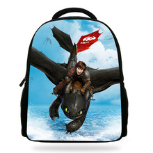 14inch Infantil Mochila cute cartoon school bag How to Train Your Dragon Backpack girls fashion children shoulder bag for boys