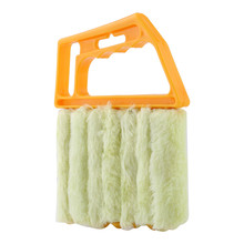 1Pcs Shutter Venetian Blind Brush Slat Window Air Conditioner Blinds Duster Dirt Cleaner New hot sale(China)