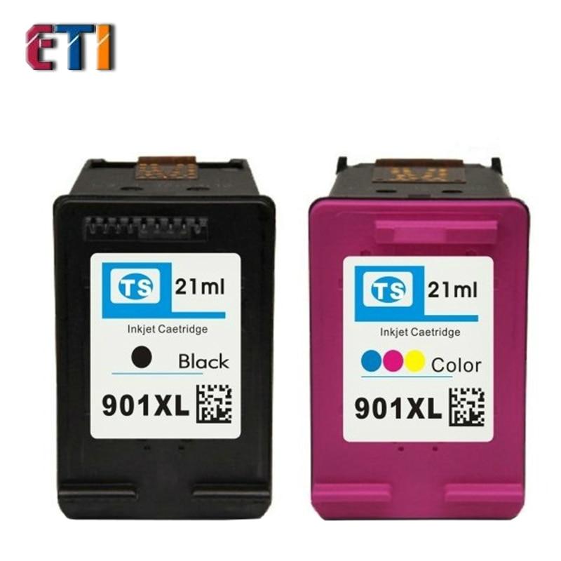 Compatible Ink for HP 901 XL for HP Officejet J4580 / J4660 / J4640 / J4680 / J4500 For HP Printer Ink Cartridges Chip Ce400<br><br>Aliexpress
