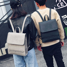 Suyuer JZ 2017 New Women Backpack Female PU Leather Women's Backpacks Vintage Girls Bags Retro Lady Hot School Street Bags