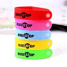 10 PCS Mosquito Repellent Bracelet Hand Strap Fabric Mosquito Repellent Wrist Pest Control Repeller For Baby Adult Random Color