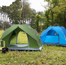 Tent outdoor 3 - 4 fully-automatic double layer camping tent rain set/110810