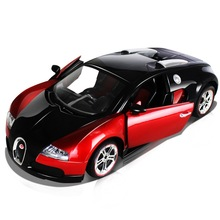 Bugatti 1:14 a key to open the door remote control car simulation high speed drift , toy car, remote control cars,rc car