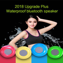 2018 New Mini Waterproof Bluetooth wireless speaker portable Subwoofer Shower bass Wireless receiver Handsfree speaker music