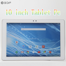 10 inch Quad Core 1GB RAM 16GB ROM TN LCD Tablets pc FM WiFi Intel SoFIA CPU Android 5.0 cheap and simple Tablet pc
