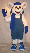 ohlees cute rabbit bunny mascot costumes  Chirstmas party birthday gift Halloween Fancy Dress Adult Size custom made