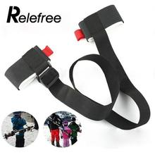 Relefree Outdoor Adjustable Durable Snowboard Pole Shoulder Hand Carrier Lash Handle Straps Binding Protection(China)