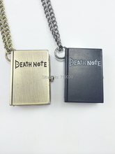 can mix color)10pcs/lot Wholesale Fashion Movie Charm Death Note pocket watch necklace for men and women,original factory supply(China)