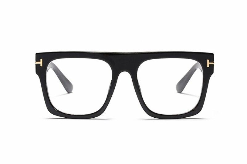 45718 Retro Square Glasses Frames Men Women Trending Styles