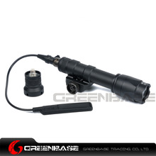 Greenbase Airsoft Tactical SF M600C Scout Lights LED Hunting Weapon Lights Flashtorch For M4 M16 With Remote Control(China)