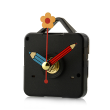Silence Replacement Quartz Clock Movement Mechanism Pencil Hands DIY Living Bed Room Home Decoration Decor(China)