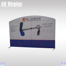 10ft Curved Top High Quality Trade Show Booth Portable Tension Fabric Banner Display Stand With Your Own Design Printing(China)