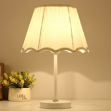 Handcraft Cloth LED Table Lamps Simple Modern Dimmable Luminary Bedroom Bedside Cabinet Living Study Room Night Desktop Lights(China)
