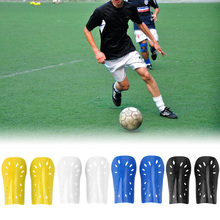 1 Pair Football Soccer Shin Pads Basketball Shin Guards Protective Gear Leg PE lining Training Sports Leg Protector(China)