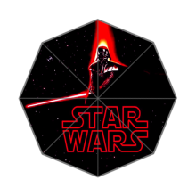 Hot Sale High Quality  Star Wars Three Folding Sunny and Rainly Umbrella UMN06
