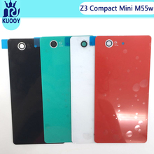 Buy Sony Xperia Z3 Compact z3Mini M55w D5803 D5833 Glass Battery Back Cover Housing Back Case Battery Door Adhesive Sticker for $2.20 in AliExpress store
